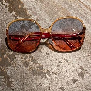 Vintage Christian Dior sunglass frames sexy 70's